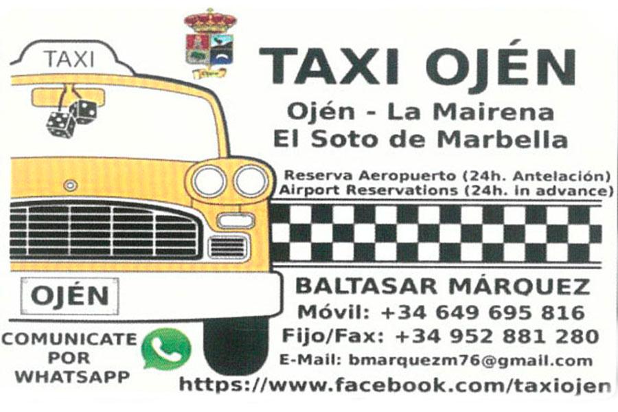 Taxi Ojén